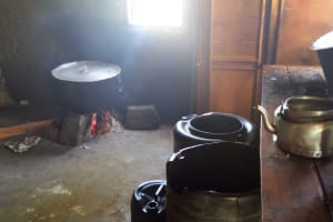 The Water Project: St. Marygoret Girls Secondary School -  Inside Kitchen