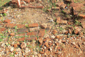 The Water Project: Digula Secondary School -  Demolished Latrines