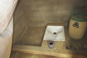 The Water Project: Petifu Junction Community -  Latrine Inside