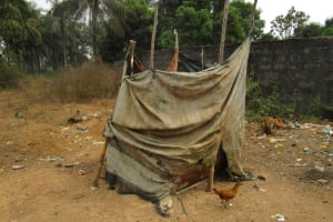The Water Project: Petifu Junction Community -  Bathing Room