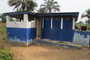 The Water Project: DEC Primary School -  Latrine