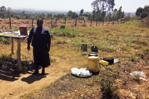 The Water Project: St. Marygoret Girls Secondary School -  School Cook