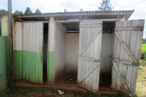 The Water Project: Kapchemoywo Girls Secondary School -  Latrines