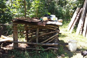 The Water Project: Emarembwa Community, Nyangweso Spring -  Dish Rack