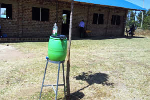 The Water Project: St. Marygoret Girls Secondary School -  Hand Washing Station