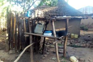 The Water Project: Bumavi Community, Shoso Mwoga Spring -  Dish Rack