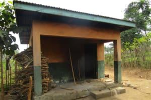 The Water Project: DEC Primary School -  Sierraleone Teachers Quarters Kitchen