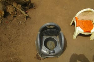 The Water Project: Ponka Village -  Children Portable Toilet