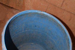 The Water Project: Katitu Community -  Water Storage Container