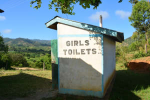 The Water Project: AIC Mutulani Secondary School -  Latrines