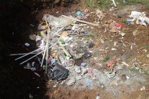 The Water Project: Kapchemoywo Girls Secondary School -  School Dumpsite