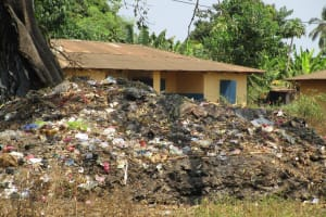 The Water Project: Tintafor, Police Barracks C-Line Community -  Rubbish Pit