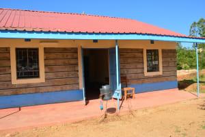 The Water Project: AIC Mutulani Secondary School -  Hand Washing Station