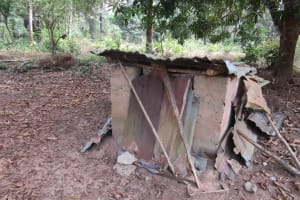 The Water Project: Ponka Village -  House For Evil Spirits