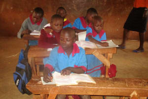 The Water Project: ADC Chanda Primary School -  Students In Class