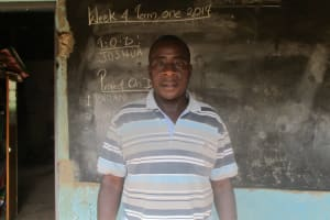 The Water Project: Digula Secondary School -  School Principal Joseph Onyango