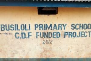 The Water Project: Ebusiloli Primary School -  School Entrance