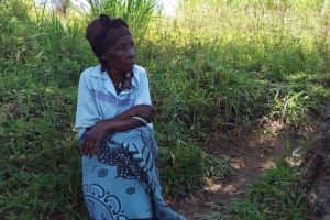 The Water Project: Emarembwa Community, Nyangweso Spring -  Mrs Nyangweso