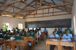 The Water Project: AIC Mutulani Secondary School -  Classroom