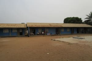 The Water Project: Word of Life Bilingual School -  Front Of School