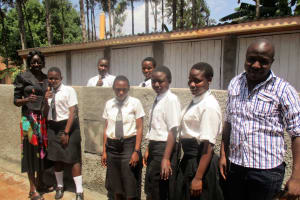 The Water Project: Esiandumba Secondary School -