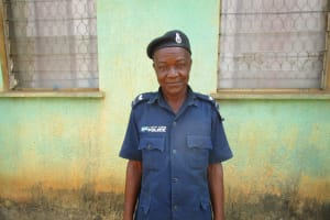 The Water Project: Tintafor, Police Barracks C-Line Community -  S Kamara