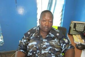 The Water Project: Tintafor, Police Barracks C-Line Community -  Mr Abieeyoseh