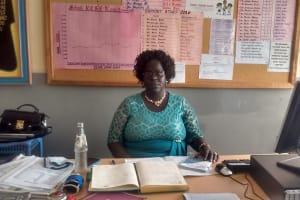 The Water Project: Matende Girls High School -  School Principal Elizabeth Musambai