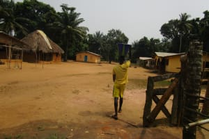 The Water Project: Ponka Village -  Carrying Water