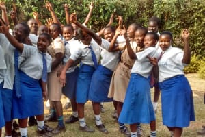 The Water Project: Matende Girls High School -  Students Singing Their School Anthem