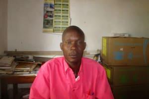 The Water Project: Ebusiloli Primary School -  Senior Teacher Naftali Rurie