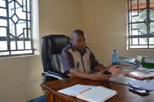 The Water Project: AIC Mutulani Secondary School -  Principal Peter Maliti