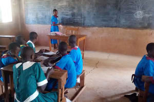 The Water Project: ADC Chanda Primary School -  Class
