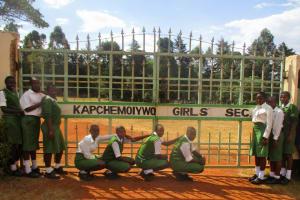 The Water Project: Kapchemoywo Girls Secondary School -  School Gate