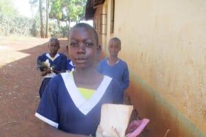 The Water Project: Ebusiloli Primary School -  Idah The Head Of Hygiene Club