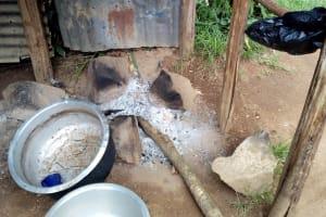 The Water Project: Kakubudu Primary School -  Fireplace In Kitchen