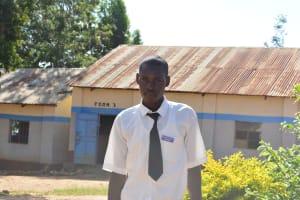 The Water Project: AIC Mutulani Secondary School -  Student Felix Syula