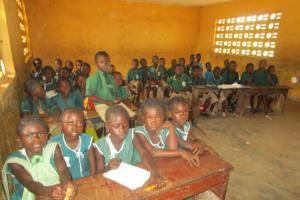 The Water Project: DEC Primary School -  Sierraleone Inside Classroom