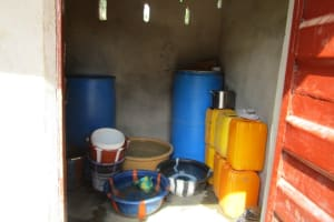 The Water Project: Victory Evangelical Church -  Water Storage