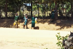 The Water Project: St. Marygoret Girls Secondary School -  Walk For Water
