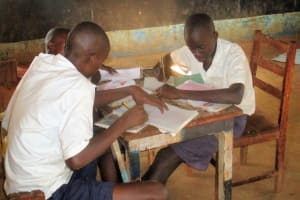 The Water Project: Ebusiloli Primary School -  Discussion Group