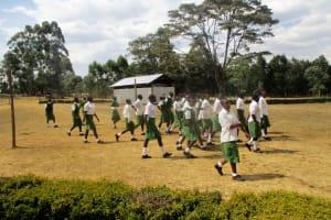 The Water Project: Kapchemoywo Girls Secondary School -  School Field