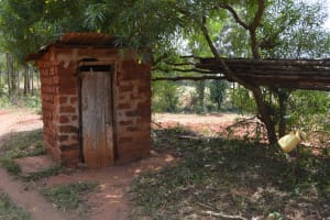 The Water Project: Katitu Community -  Latrine