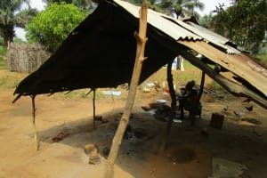 The Water Project: Ponka Village -  Kitchen