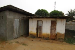 The Water Project: Word of Life Bilingual School -  Latrines