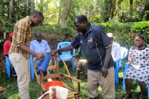 The Water Project: Mundoli Village, Isaac Jumba Spring -
