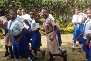 The Water Project: Matende Girls High School -  Having Fun