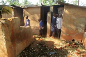 The Water Project: Ebusiloli Primary School -  Latrines