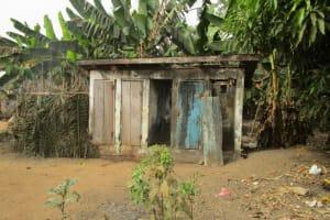 The Water Project: Petifu Junction Community -  Latrine Outside
