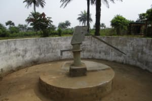 The Water Project: DEC Primary School -  Dry Well
